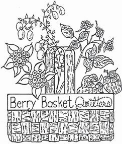Berry Basket Quilters logo